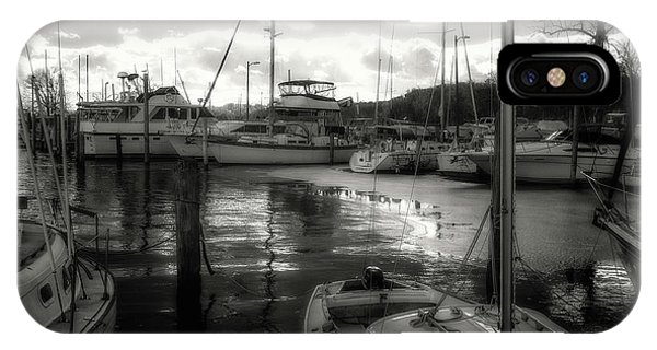 Bell Haven Docks IPhone Case