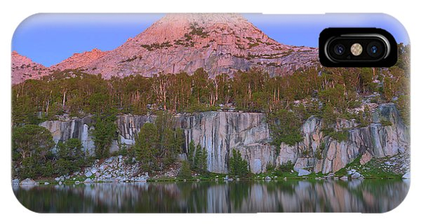 Kings Canyon iPhone Case - Bell Peak Alpenglow by Brian Knott Photography