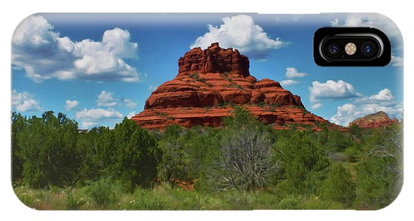 IPhone Case featuring the photograph Bell Rock In Sedona by Ola Allen