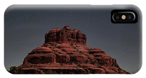 Bell Rock With Stars IPhone Case