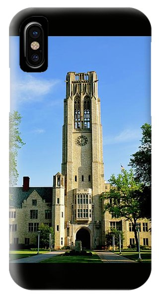 Bell Tower At The University Of Toledo IPhone Case