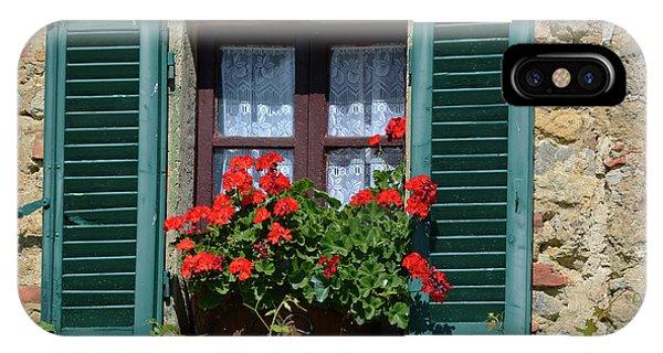 Bella Italian Window  IPhone Case