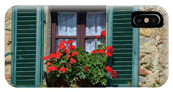 Bella Italian Window  IPhone Case