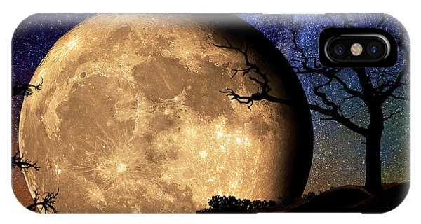 Bella Luna From Another World IPhone Case