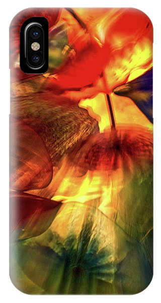 Bellagio Ceiling Sculpture Abstract IPhone Case