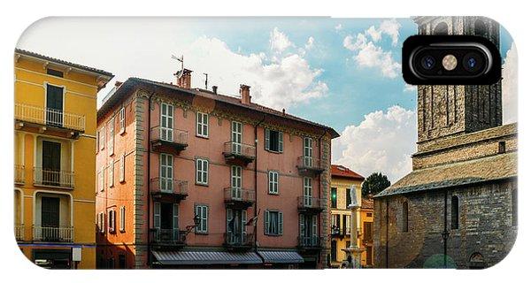 Bellagio, Lake Como, Italy. IPhone Case