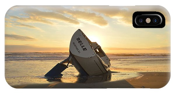 IPhone Case featuring the photograph Belle At Sunrise by Barbara Ann Bell