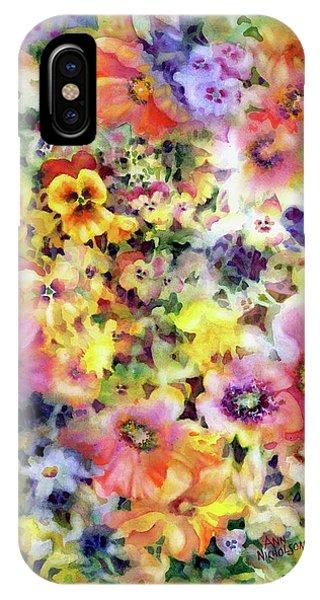 Belle Fleurs I IPhone Case