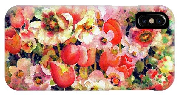 Belle Fleurs II IPhone Case