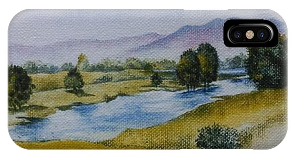 Bellinger Valley In Spring IPhone Case