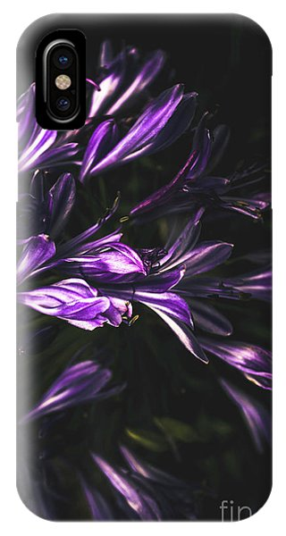Purple iPhone Case - Bells And Flowers by Jorgo Photography - Wall Art Gallery