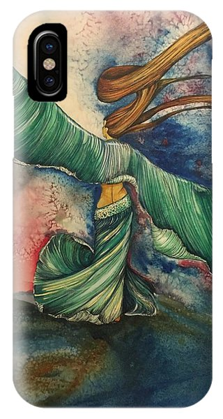 Belly Dancer With Wings  IPhone Case