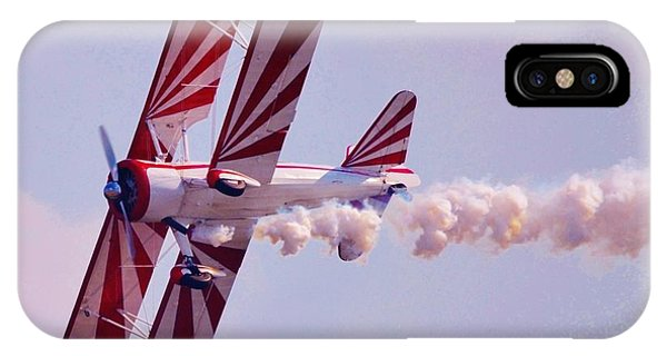 Belly Of A Biplane IPhone Case