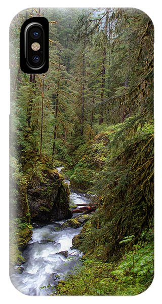 Below The Falls IPhone Case