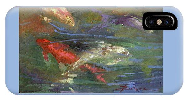 Betty Billups iPhone Case - Below The Surface by Betty Jean Billups