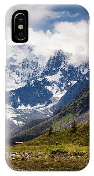 Belukha Mountain. Altay. Russia IPhone Case