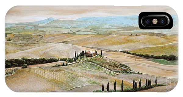 Belvedere - Tuscany IPhone Case