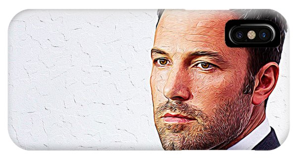 Ben Affleck iPhone Case - Ben Affleck by Iguanna Espinosa