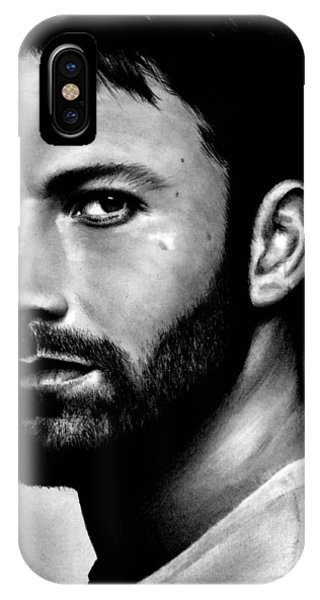 Ben Affleck iPhone Case - Ben Affleck by Rick Fortson