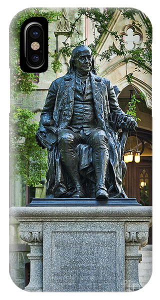 Ben Franklin At The University Of Pennsylvania IPhone Case