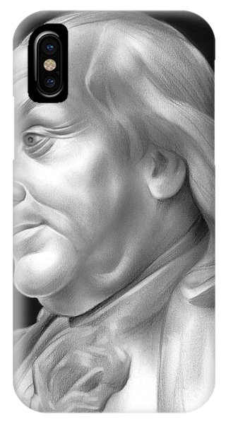 Ben iPhone Case - Ben Franklin by Greg Joens