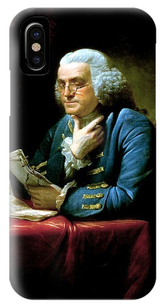 Patriots iPhone Case - Ben Franklin by War Is Hell Store