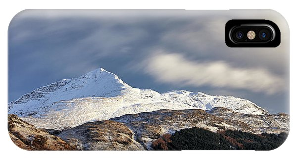 IPhone Case featuring the photograph Ben Lomond by Grant Glendinning