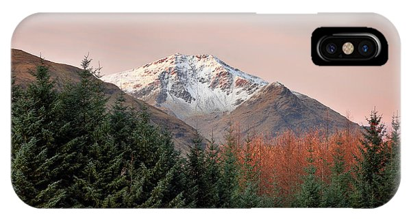 IPhone Case featuring the photograph Ben Lui Sunrise by Grant Glendinning