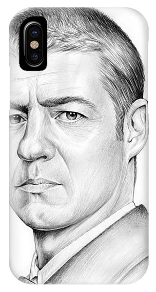 Ben iPhone Case - Ben Mckenzie by Greg Joens