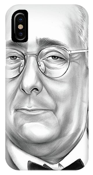 Ben iPhone Case - Ben Stein by Greg Joens