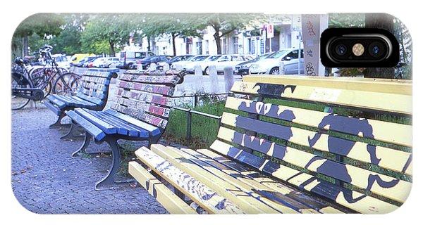 Bench Graffiti IPhone Case