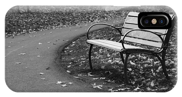 Bench On The Walk IPhone Case