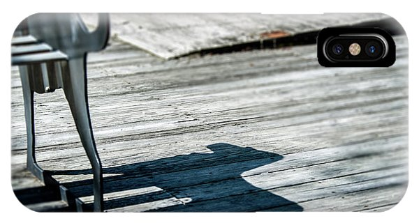 Bench Shadow IPhone Case