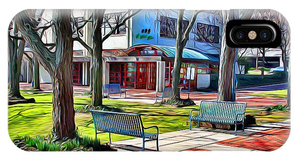 Park Bench iPhone Case - Benches by Stephen Younts