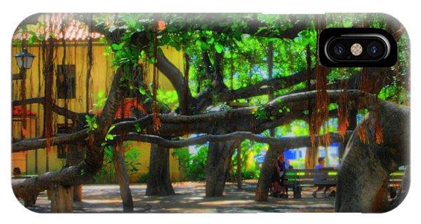Beneath The Banyan Tree IPhone Case