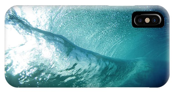 Surrealistic iPhone Case - Beneath The Curl by Sean Davey