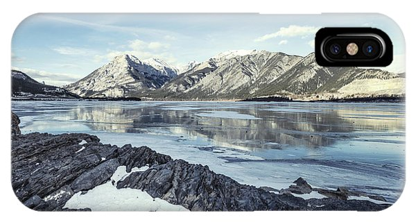 Banff iPhone Case - Beneath The Frozen Sky by Evelina Kremsdorf
