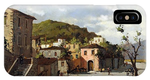 Provincia Di Benevento-italy Small Town The Road Home IPhone Case