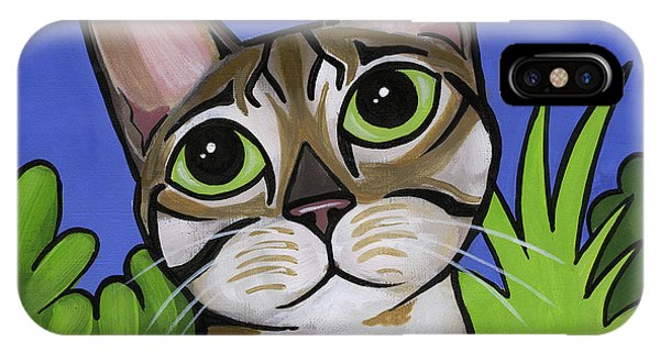 Bengal Beauty IPhone Case