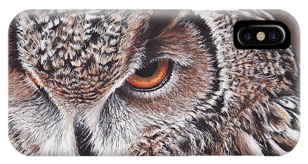 Bengal Eagle Owl IPhone Case