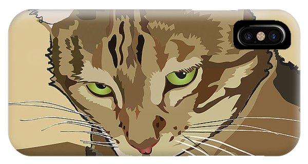 Bengal Kitty Pet Portrait IPhone Case