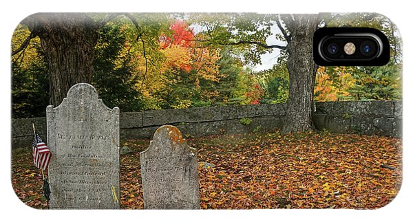 Benjamin Butler Grave IPhone Case