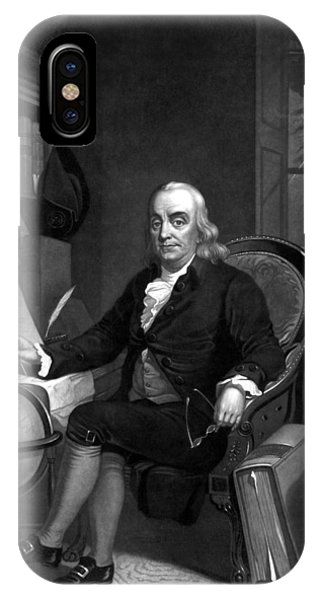Inventor iPhone Case - Benjamin Franklin -- The Scientist by War Is Hell Store