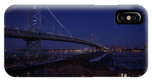 Benjamin Franklin Bridge IPhone Case