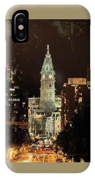 Benjamin Franklin Parkway IPhone Case
