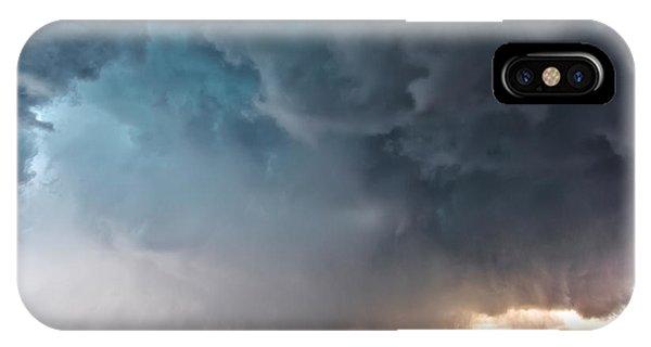 Bennington Kansas Tornado Structure IPhone Case