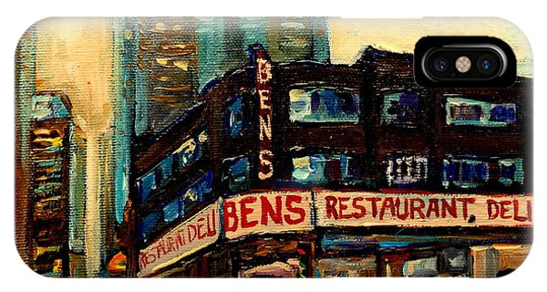 Bens Restaurant Deli IPhone Case