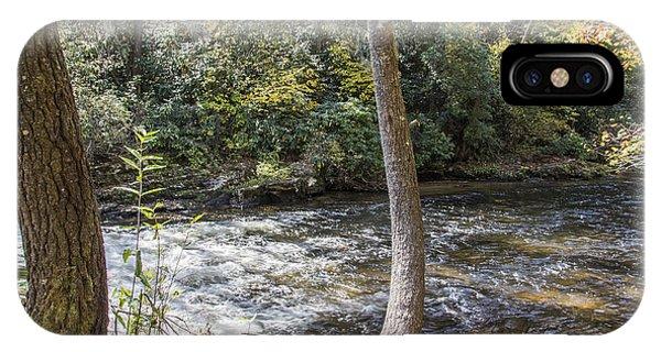 Bent Tree River IPhone Case
