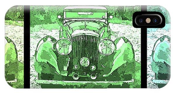 Bentley Green Pop Art Triple IPhone Case