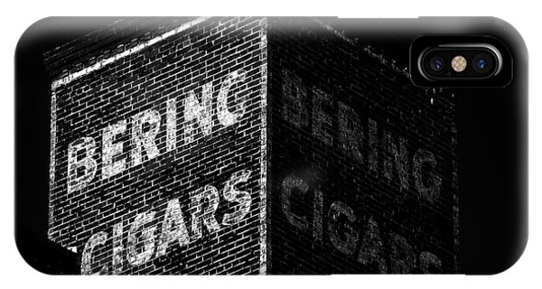 Bering Cigar Factory IPhone Case